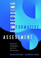Embedding Formative Assessment: Practical Techniques for K-12 Classrooms (Paperback)