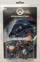 Overwatch Ana and Soldier 76 Comic Book and Backpack Hanger Two-Pack