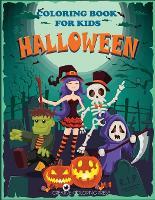 Halloween Coloring Book for Kids - Kids Halloween Books (Paperback)