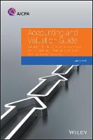 Accounting and Valuation Guide: Valuation of Portfolio Company Investments of Venture Capital and Private Equity Funds and Other Investment Companies - AICPA Accounting and Valuation Guide (Paperback)
