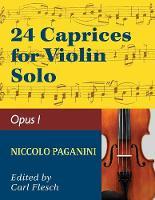 Paganini: 24 Caprices, Op. 1 - Violin solo (Paperback)