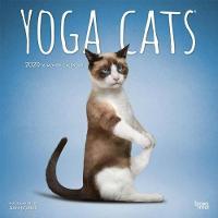 Yoga Cats 2020 Square Wall Calendar