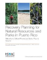 Recovery Planning for Natural Resources and Parks in Puerto Rico: Natural and Cultural Resources Sector Report, Volume 1 (Paperback)