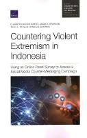 Countering Violent Extremism in Indonesia: Using an Online Panel Survey to Assess a Social Media Counter-Messaging Campaign (Paperback)
