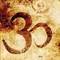 Om: 108-Page Lined Writing Diary / Journal / Notebook / Log [8.5 X 8.5 - Square] (Paperback)