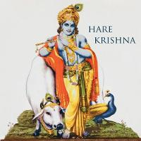 Hare Krishna: 150-Page Blank Writing Diary with Hindu Deity Krishna 8.5 X 8.5 Square (Grey) (Symbology Series of Writing Journals) (Volume 2) - Symbology Series of Writing Journals 2 (Paperback)