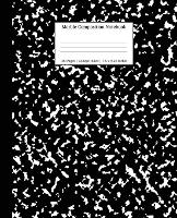 Marble Composition Notebook College Ruled