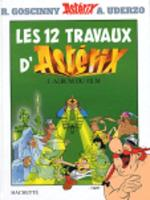 Asterix in French: Les douze travaux d'Asterix (Hardback)