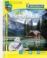 USA Canada Mexico Atlas 2018 (Spiral bound)