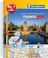 France Atlas 2017 - Michelin Atlas (Spiral bound)