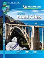 Michelin North America Road Atlas 2019 - Atlas (Michelin) (Spiral bound)