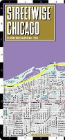 Streetwise Chicago Map - Laminated City Center Street Map of Chicago, Illinois - Michelin Streetwise Maps (Sheet map, folded)