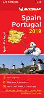 Spain & Portugal 2019 - Michelin National Map 734