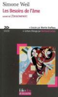Les Besoins De L'Ame (Paperback)