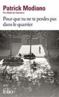 Pour que tu ne te perdes pas dans le quartier (Paperback)