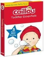 Caillou, Toddler Essentials: 5 Books About Growing - Caillou