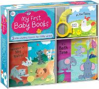 My First Baby Books: Three Adorable Books in One Box: Bath Book, Cloth Book, Buggy Book