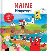 Maine Monsters: A Search and Find Book (Board book)