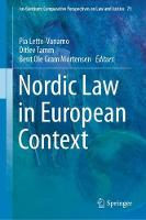 Nordic Law in European Context - Ius Gentium: Comparative Perspectives on Law and Justice 73 (Hardback)