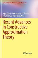 Recent Advances in Constructive Approximation Theory - Springer Optimization and Its Applications 138 (Paperback)