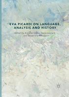 Eva Picardi on Language, Analysis and History (Paperback)