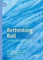 Rethinking Bail: Court Reform or Business as Usual? (Hardback)