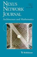 Nexus Network Journal 13,3: Architecture and Mathematics - Nexus Network Journal 13,3 (Paperback)
