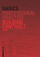 Basics Building Contract - Basics (Paperback)