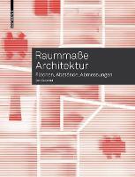 Raummasse Architektur: Flachen, Abstande, Abmessungen (Paperback)
