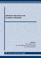 Advanced Structural and Functional Materials - Materials Science Forum Volume 1034 (Paperback)