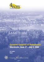 European Congress of Mathematics, Stockholm, June 27 -July 2, 2004 (Hardback)