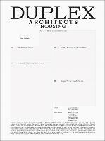 Duplex Architects: Housing (Hardback)