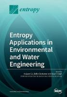 Entropy Applications in Environmental and Water Engineering (Paperback)