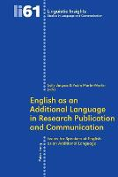 English as an Additional Language in Research Publication and Communication