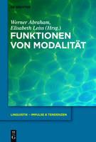 Funktionen von Modalitat - Linguistik - Impulse & Tendenzen 55 (Hardback)