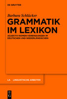 Grammatik im Lexikon - Linguistische Arbeiten, 553 (Hardback)