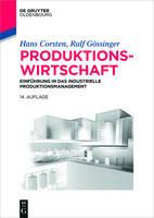 Produktionswirtschaft - Lehr- Und Handbucher Der Betriebswirtschaftslehre (Paperback)