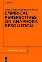 Empirical Perspectives on Anaphora Resolution - Linguistische Arbeiten (Hardback)