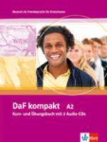 DaF Kompakt in 3 Banden: Kurs- und Ubungsbuch A2 mit 2 Audio-CDs