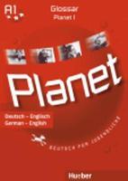 Planet: Glossar Deutsch-Englisch 1 (Paperback)