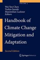 Handbook of Climate Change Mitigation and Adaptation - Handbook of Climate Change Mitigation and Adaptation