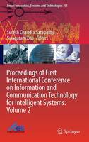 Proceedings of First International Conference on Information and Communication Technology for Intelligent Systems: Volume 2 - Smart Innovation, Systems and Technologies 51 (Hardback)