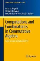 Computations and Combinatorics in Commutative Algebra: EACA School, Valladolid 2013 - Lecture Notes in Mathematics 2176 (Paperback)