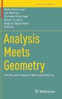 Analysis Meets Geometry: The Mikael Passare Memorial Volume - Trends in Mathematics (Hardback)