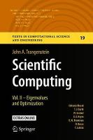 Scientific Computing: Vol. II - Eigenvalues and Optimization - Texts in Computational Science and Engineering 19 (Hardback)