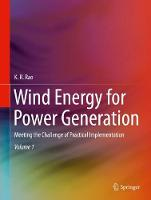 Wind Energy for Power Generation: Meeting the Challenge of Practical Implementation (Hardback)
