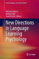 New Directions in Language Learning Psychology - Second Language Learning and Teaching (Paperback)