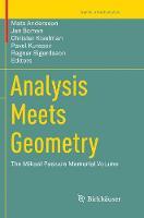 Analysis Meets Geometry: The Mikael Passare Memorial Volume - Trends in Mathematics (Paperback)