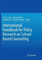 International Handbook for Policy Research on School-Based Counseling (Paperback)