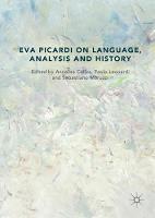 Eva Picardi on Language, Analysis and History (Hardback)